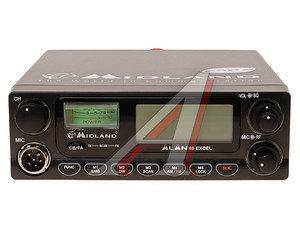 Радиостанция автомобильная ALAN 48 excel, 27МГц, 40 каналов ALAN 48 EXCEL, Alan 48 EXCEL