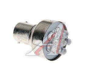 Лампа светодиодная 12V P5W 5W BA15s белая NORD YADA S25 (6LED), 901967