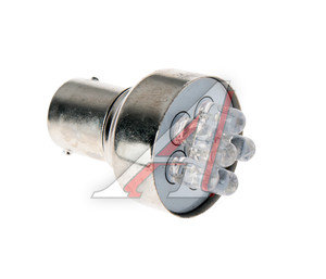 Лампа светодиодная 12V R5W BA15s белая NORD YADA S25 (6LED), 901967, А12-5-1