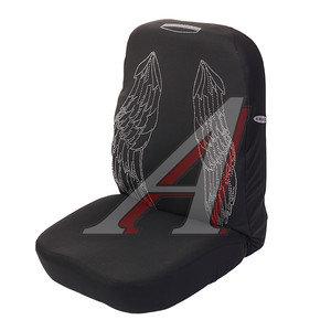 Авточехлы универсальные (АIRВAG 3 молнии) черные комплект Angel PSV 118260, 118260 PSV