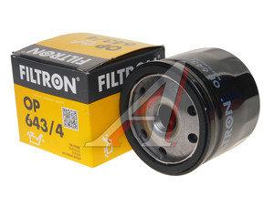 Фильтр масляный RENAULT Laguna 2,Megane 1,2 OPEL Movano (01-) (TDI) FILTRON OP643/4, OC471