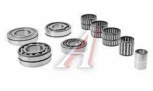 Ремкомплект УАЗ КПП 4-ступ. (подшипники) (АДС) №037, 180203