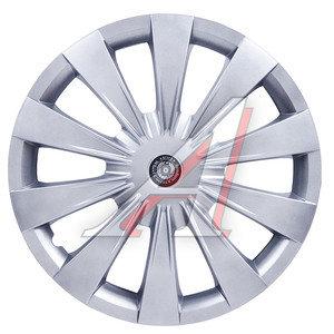 Колпак колеса R-13 декоративный серый комплект 4шт. ОКТАВА ОКТАВА R-13