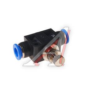 Фитинг для пластиковых трубок 8x8мм с металлическим регулятором ROCK FORCE RF-SPA08
