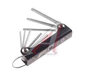 Набор ключей TORX T9H-T40H складных с отверстием 8 предметов JTC JTC-3502,