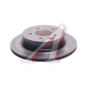 Диск тормозной NISSAN X-Trail (T30,T31) (01-) задний (1шт.) TRW DF4745, 43206-8H305/43206-8H700
