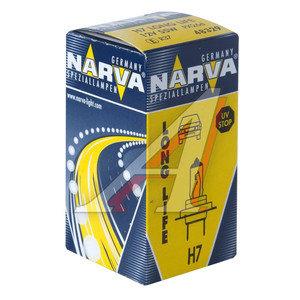 Лампа 12V H7 55W PX26d (1шт.) Long Life NARVA 48329, N-48329LL, АКГ 12-55 (Н7)