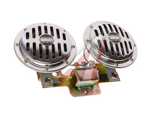 Сигнал звуковой Electric 12V,8A 335/435Hz 120дБ 125мм комплект 2шт. AVS 43308, AVS-1052,