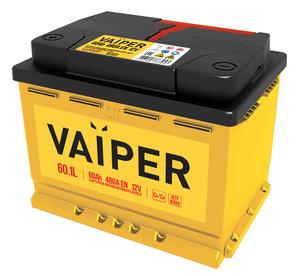 Аккумулятор VAIPER 60А/ч 6СТ60, 84474