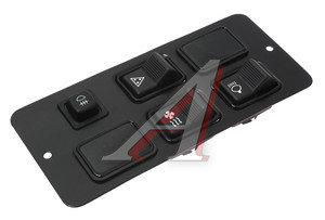 Щиток УРАЛ выключателей (4 выключателя) в сборе (ОАО АЗ УРАЛ) 4320-3805015