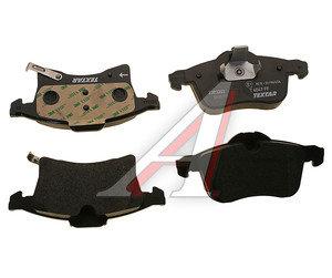 Колодки тормозные OPEL Astra G (1.8/2.2 16V), Zafira A, B (1.6/1.8) передние (4шт.) TEXTAR 2383201, GDB1350, 1605035/1605009/1605957/1605996/1605997