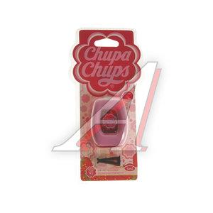 Ароматизатор на дефлектор мембранный (клубника со сливками) CHUPA CHUPS CHP402