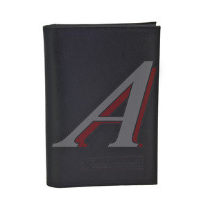 Бумажник водителя BLACK натуральная кожа (в коробке) АВТОСТОП БВЛ3Л
