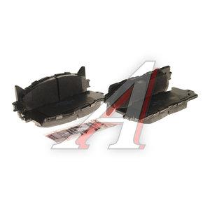 Колодки тормозные TOYOTA Camry V40 (06-) LEXUS ES350 (06-) передние керамика (4шт.) HAWK HB.647Z.692, GDB3429,