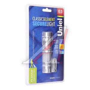 Фонарь 1 светодиод (алюминий), влагозащищенный 3хLR03 UNIEL UNIEL S-LD023-C, UNIEL