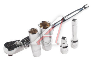 Набор головок торцевых магнитных для свечей зажигания (трещотка,головка 16мм,21мм) JTC JTC-3905