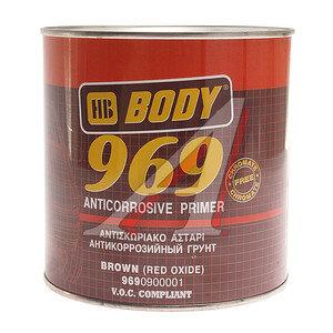 Грунт коричневый 1кг 969 BODY BODY, 89870
