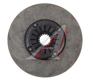 Диск сцепления Т-150 дв.СМД-60,62 ведомый с пружиной (А) 150.21.024-2