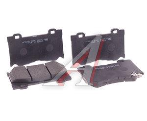 Колодки тормозные INFINITI FX35 (S51) (08-) передние (4шт.) HSB HP5248, GDB3505, D1060-JL00K