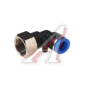 """Фитинг для пластиковых трубок 1/2"""" угловой 12мм с внутренней резьбой ROCK FORCE RF-SPLF12-04"""