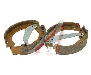 Колодки тормозные OPEL Astra G задние барабанные (4шт.) FENOX BP53043, GS8637, 93171065