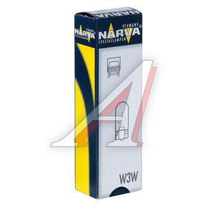 Лампа 24V W3W W2.1x9.5d бесцокольная NARVA 17109, N-17109