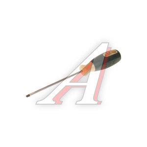 Отвертка шлицевая SL 0.8х4х100мм с противоскользящей ручкой ROCK FORCE RF-71304B