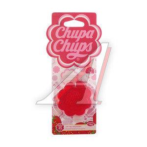 Ароматизатор подвесной гелевый (клубника со сливками) 18г CHUPA CHUPS CHP500