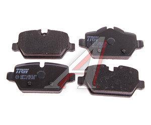 Колодки тормозные BMW 1 (E81,E87),3 (E90) задние (4шт.) TRW GDB1612, 34216788183/34216777240