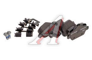 Колодки тормозные BMW 1 (E81,E87),3 (E90) задние (4шт.) OE 34216788183, GDB1612