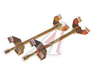 Стяжка пружин 350мм (двойной скользящий крюк) 12222