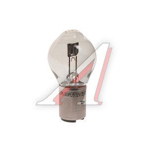 Лампа 12V S2 35/35W BA20d PHILIPS 12728C1, P-12728