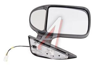 Зеркало боковое ГАЗ-3302 Бизнес левое обогрев с повторителем поворота Черное Матовое Н.НОВГОРОД