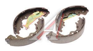 Колодки тормозные HYUNDAI Starex H-1 (07-) задние барабанные (4шт.) HSB HS0019, GS8774, 58305-4HA00