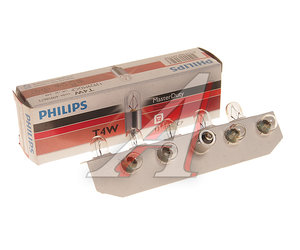Лампа 24VхT4W (BA9s) MASTER DUTY PHILIPS 13929MDCP, P-13929MD
