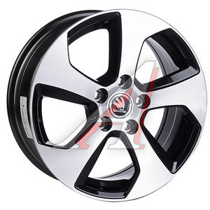 Диск колесный литой SKODA Octavia (12-) R16 SK99 BKF REPLICA 5х112 ЕТ46 D-57,1