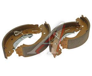 Колодки тормозные PEUGEOT Boxer CITROEN Jumper FIAT Ducato задние барабанные (4шт.) FENOX BP53037, GS8472, 4241.L2