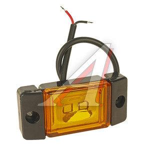 Фонарь габаритный LED 24V, желтый (2-светодиода) АВТОТОРГ НК-0066/LED ж