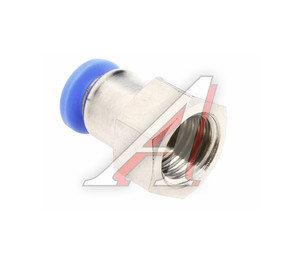 Соединитель трубки ПВХ,полиамид d=6мм (внутренняя резьба) М12х1.25 прямой PCF M12x1.25 d=6, АТ-0725