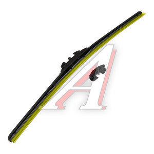 Щетка стеклоочистителя 450мм беcкаркасная (универсальный адаптер) Hybrid Graphit HEYNER AL-028, 028000
