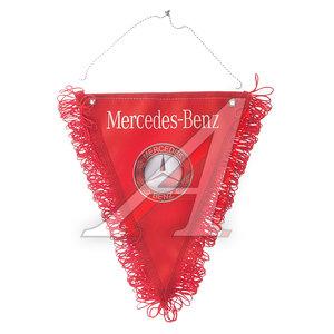 Вымпел MERCEDES-BENZ красный с бахромой (20х26см) на 2-х присосках 06507