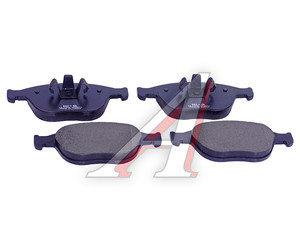 Колодки тормозные FORD Focus,Tourneo,Transit передние (4шт.) SANGSIN SP1623, GDB1532