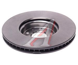 Диск тормозной AUDI A4,A5,A6,A7,Q5 (11-) передний (320х30) (1шт.) TRW DF6148, 8R0615301