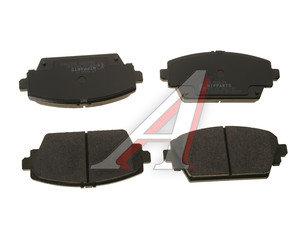 Колодки тормозные NISSAN Primera, Almera (00-) передние (4шт.) NIPPARTS J3601072, GDB3291, 41060-AV125/41060-AV126