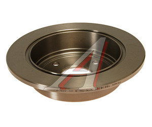 Диск тормозной CHEVROLET Lacetti (03-) задний (1шт.) FENOX TB218165, DF7381, 96549630