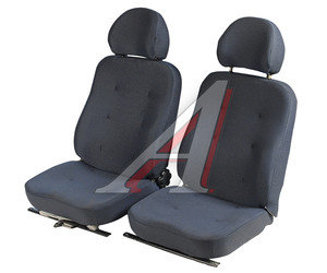 Сиденье УАЗ-452 переднее (полулюкс) комплект 2шт. 452Д-6802010