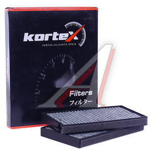Фильтр воздушный салона HYUNDAI Starex H-1 (07-) (2шт.) угольный KORTEX KC0024S, LA634/S, 97617-4H000