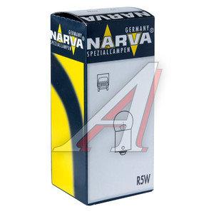 Лампа 24V R5W NARVA 17181, N-17181, А24-5-1
