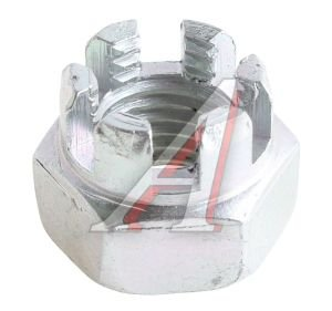 Гайка М12х1.5х15 ВАЗ-2101 прорезная маятникого рычага 10792211