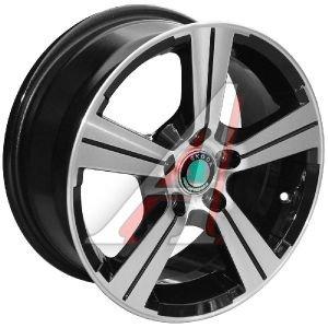 Диск колесный литой VW Polo Sedan SKODA Rapid R15 BD TECH Line 503 5x100 ЕТ38 D-57,1